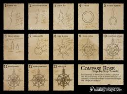 Map Rose Fantasy Map Tutorial U2013 Compass Rose Fantasy Maps