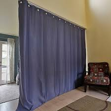 How To Make A Curtain Room Divider - curtain room dividers room separators bed bath u0026 beyond