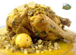 la cuisine de bernard poulet au citron confit