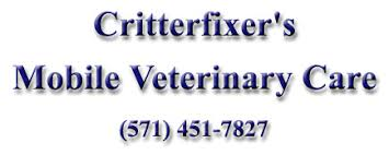 Creature Comforts Mobile Vet Critterfixer U0027s Mobile Veterinary Care