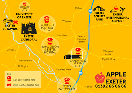 Exeter England Map by Apple Central Taxis The New Home For Gemini U0026 Capital Taxis