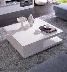 fascinating modern coffee table with black and white high gloss