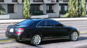 mercedes maybach 2008 mercedes benz s550 w221 2008 gta5 mods com