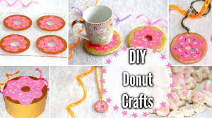 diy donut crafts room decor keychain snack more youtube