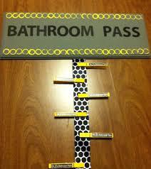 Bathroom Pass Ideas 26 Best Bathroom Passes Images On Pinterest Classroom Setup