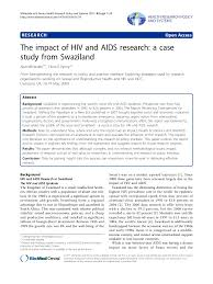 how to write a paper whitesides the impact of hiv and aids research a case study from swaziland