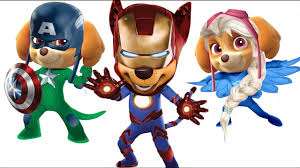 paw patrol captain america iron man pj masks pages for kids paw