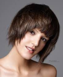 impish bob a thick fringe to attractively frame the face