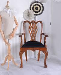 Ebay Chippendale Esszimmer Armlehnstuhl Chippendale Sessel Mahagoni Stuhl Antik Holzstuhl