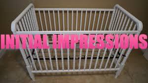 Davinci Emily 4 In 1 Convertible Crib by Davinci Jenny Lind 3 In 1 Convertible Crib Initial Impressions