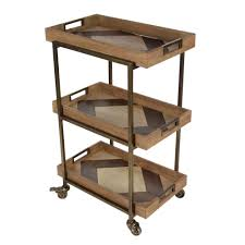 pottery barn bar cart the best cart