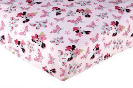 Crib Bedding Set Minnie Mouse by Disney Minnie Mouse Crib Sheet