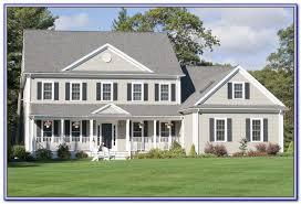 exterior house paint color schemes white trim painting home