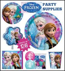 frozen party supplies frozen party decorations supplies prices start at 2 49