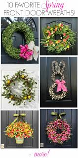 spring wreaths for front door favorite spring wreaths 10 spring door wreaths you ll love
