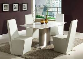 white modern dining table set white modern dining table set dining space with triangle glass
