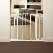 Baby Gate For Stairs With Banister And Wall Pressure Mounted Gates You U0027ll Love Wayfair