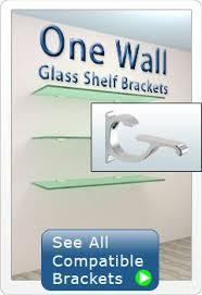 Brackets For Glass Shelves by 8