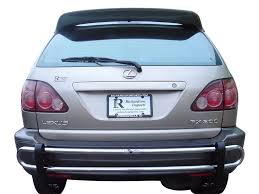 lexus rx 400h review 06 08 lexus rx400h rear bar bumper bull guard protector double