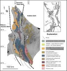 foreland basins at the miocene arc arc junction central hokkaido