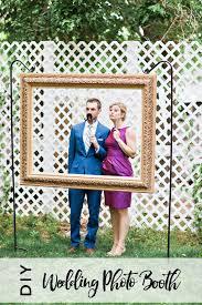 Wedding Photobooth Diy Hanging Frame Wedding Photo Booth Handmade And Homegrown
