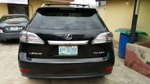 infiniti ex35 vs lexus rx 350 lexus rx350 2010 4 8m two months used autos nigeria