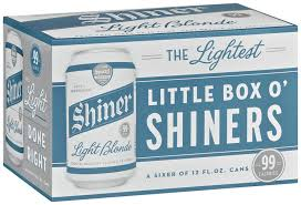 shiner light blonde carbs shiner light blonde little box o shiners beer 6 pk cans reviews