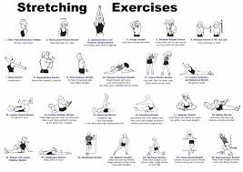 Computer And Desk Stretches Desk Stretching Exercises Instruction Sheet Pictures To Pin On