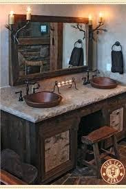 cabin bathroom ideas fortune cabin bathroom vanities bathrooms cool log best palazzobcn
