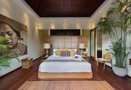 how to decide on bedroom ceiling lighting ideas for tropical look