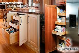 kitchen base cabinets without drawers convenience accessories showplace cabinetry