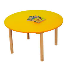 adjustable height round table buy height adjustable round wooden classroom tables tts