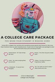 college care package ideas a and meaningful college care package