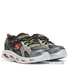 skechers red light up shoes high end skechers red ipox rayz light up sneaker gunmetal