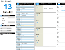 daily work schedule template fee schedule template