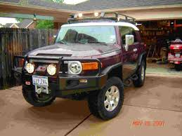 roof rack mounted lights lots of pics page 2 toyota fj
