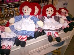 hand made raggedy ann dolls little falls crafters market