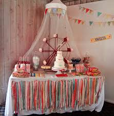 emily u0027s vintage circus themed birthday party great ideas for