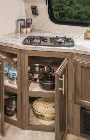 kz kitchen cabinet escape mini m181rk ultra lightweight travel trailer k z rv