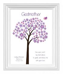 Godmother Gifts To Baby Godmother Gift Personalized Godmother Print By Kreationsbymarilyn