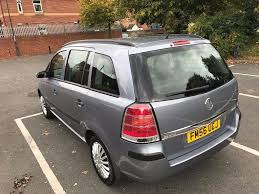 vauxhall zafira life 2006 2 2l petrol automatic in derby