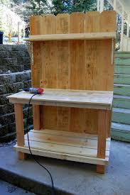 Redwood Potting Bench Diy Potting Bench Plans Diy Bench Plans Mother Earth News And
