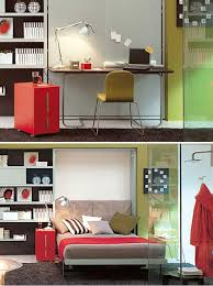 Desk Converts To Bed 10 Murphy Beds That Maximize Small Spaces Brit Co