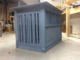 ana white milk painted ash dog crate diy projects
