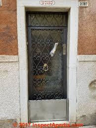 Slab Exterior Door Best Practices Details For Exterior Doors