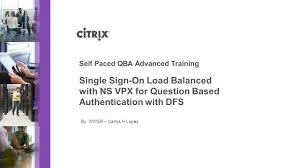 self paced qba advanced training ppt download