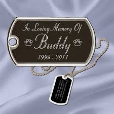 remembrance dog tags tag memorial jewelry