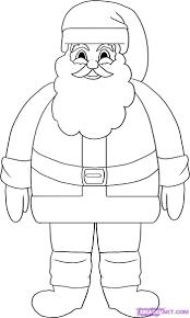 how to draw santa clause santa santa claus saint nick step by