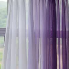 Lilac Curtains Filder Lavender Gradient Panel Set Earthy Neutral And Sheer