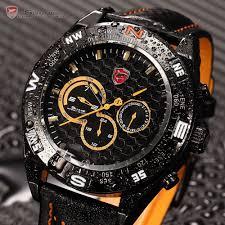 aliexpress com buy luxury gift package shark sport watch 6 hands